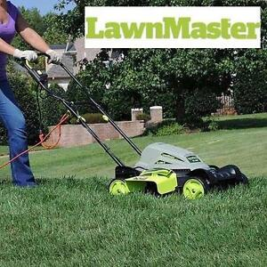 """NEW LAWNMASTER ELECTRIC MOWER 10A 18"""" Electric 2-in-1 113741179"""