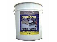Cromapol Roof Acrylic Waterproofing x 20kg x 3 Tins.