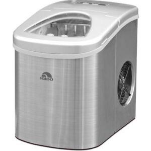Portable Countertop Ice Maker RCA Igloo Fridgaire> Silver