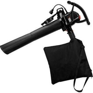 Black & Decker BV3100 Aspirateur/souffleur de feuilles lectrique avec fil 12 A de 210 pi/min et 210 mi/h  neufff