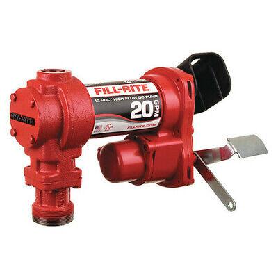 Fill-rite Fr4204h Fuel Transfer Pump 12vdc 20 Gpm 14 Hp Cast Iron 1 Npt