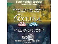 Nocturnal Old Skl vs New Skl WEST COAST & EAST COAST (Double Ticket Deal)