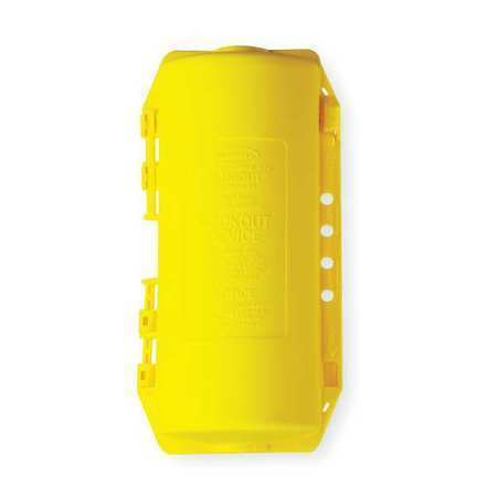 Hubbell Wiring Device-Kellems Hld2 Plug Lockout,Yellow,3/8In Shackle Dia.