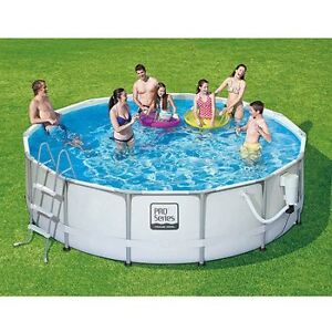 Polygroup Pro Series Outdoor Pool with Solar Heater