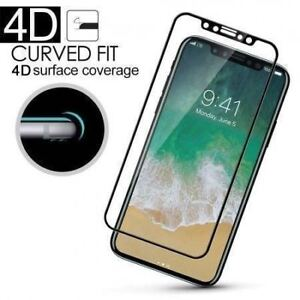 iPhone 10/X Tempered glass screen protector White/Black/Trans