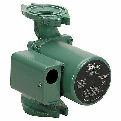 Taco 007-f5 Hot Water Circulator Pump125 Hp