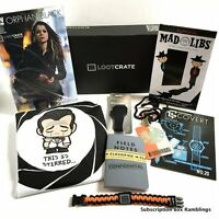 March 2015 LOOTCRATE items - SPY