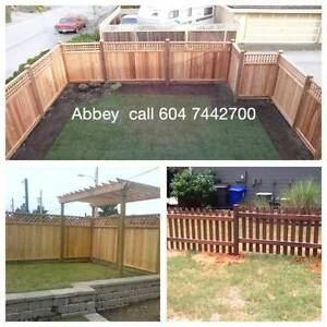 ABBEYCEDAR'S BIG CEDAR FENCE PANEL SALE & INSTALLS TO