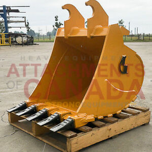 Excavator Tooth Buckets - Canadian Built
