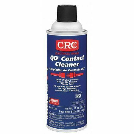 Crc 02130 Qd(R) Contact Cleaner,Aerosol Can,Alcohol