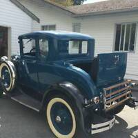 1931 Ford Model A Deluxe Five Window Coupe
