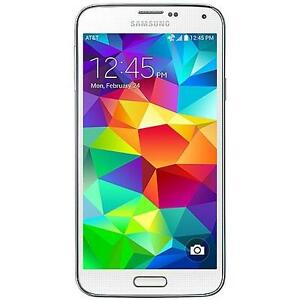 SAMSUNG S5 16GB UNLOCKED SMARTPHONE-WHITE