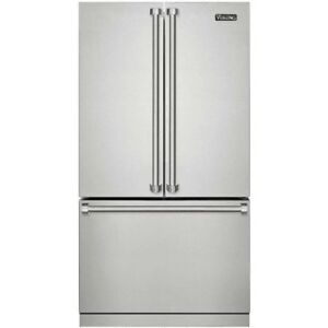 """VIKING 3 SERIES 36"""" STAINLESS STEEL COUNTER DEPTH FRENCH-DOOR"""
