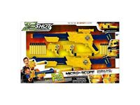 Excel Micro and Scope gun double pack double pack , Batman & Superman Flying Heros