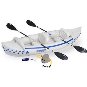 Kayak gonflable 1 ou 2 places en tandem Sea Eagle 370