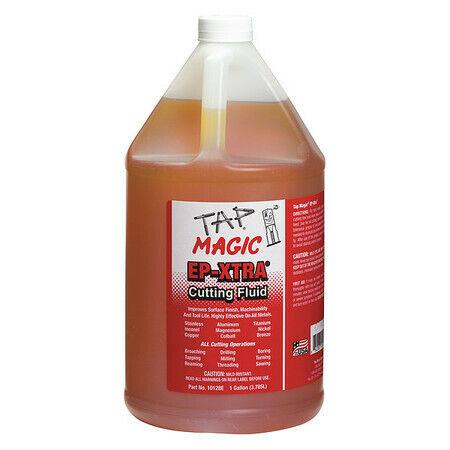 TAP MAGIC 10128E Cutting Oil, 1 gal, Squeeze Bottle, EP-Xtra