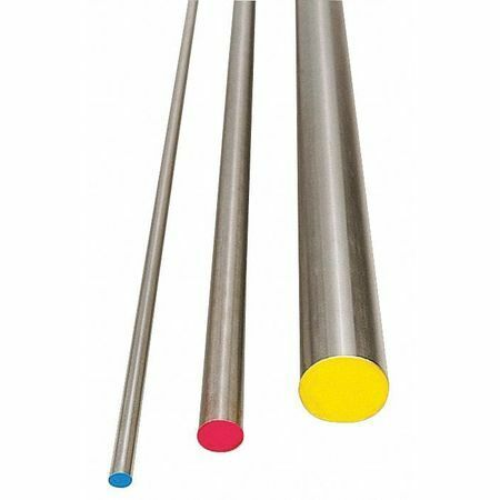 Zoro Select W1d126 Water Hard Drill Rod,W1,1/2,0.5 In