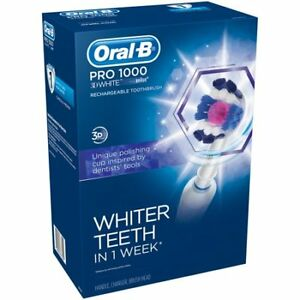 Oral-B Pro 1000 3D White - Brand New ( Free Delivery )