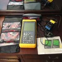 COMPLETE SET FLUKE 97 50MHz SCOPEMETER IN GOOD CONDITION