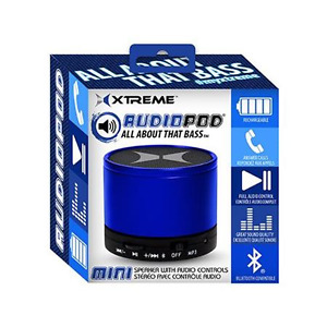 """Xtreme Audiopod """"All About The Bass"""" Bluetooth Portable Speaker"""