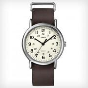 Timex Weekender Leather Strap