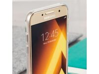 Samsung Galaxy A3 2017 platinum gold as new in box unlocked to all networks