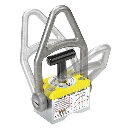 MAGSWITCH 8100089 Lifting Magnet,1100lb. Max. Pull,Steel