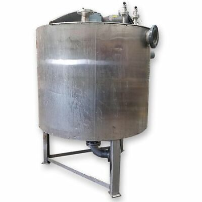 Used 525 Gallon Stainless Steel Insulated Liquid Mixing Tank