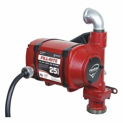 Fill-rite Nx25-ddcnb-px Fuel Transfer Pump 12 To 24vdc 25 Gpm 13 Hp Cast