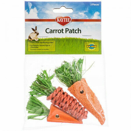 Kaytee Carrot Patch Chew Toys