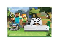 XBOX ONE 1 S 500gb with Minecraft SEALED BRAND NEW
