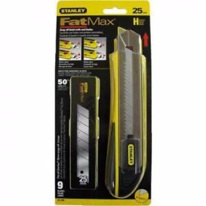 stanley fatmax 95-588 Couteau utilitaire 25mm avec 9 lames neufffffffff