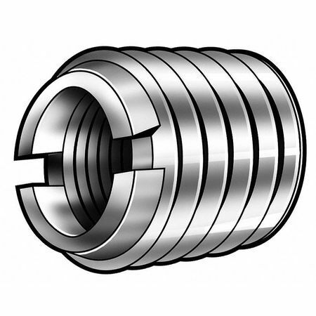 E-Z Lok 319-332 Thread Insert,Stl,10-32,5/16L,Pk10