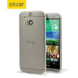 Olixar FlexiShield Ultra-Thin HTC One M8 Case - Clear- NEW South Granville Parramatta Area Preview