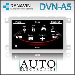Dynavin DVN-A5 D99+ MMI/RNS-E-Style Navigation/Bluetooth Audi A4 B8 2008-2013
