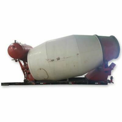 Used 10 Cubic Yard Stationary Concrete Cement Mixer