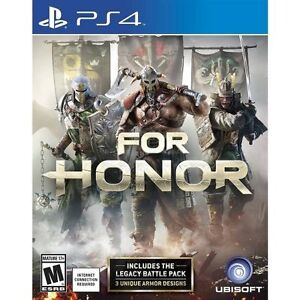For Honor PS4 Brand New Sealed