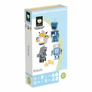 BRAND NEW SEALED IN BOX - Cricut Robotz Cartridge