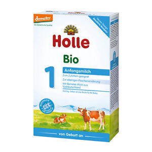 Holle Organic Baby Formula (Stages PRE, 1, 2, 3)