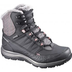 Brand New Salomon Kaina Mid CS WP Winter Waterproof Boots London Ontario image 2
