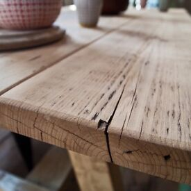 Tables & Furniture made from Reclaimed scaffold boards