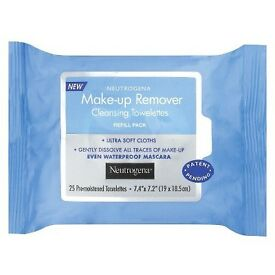 Make up removal wipes joblot