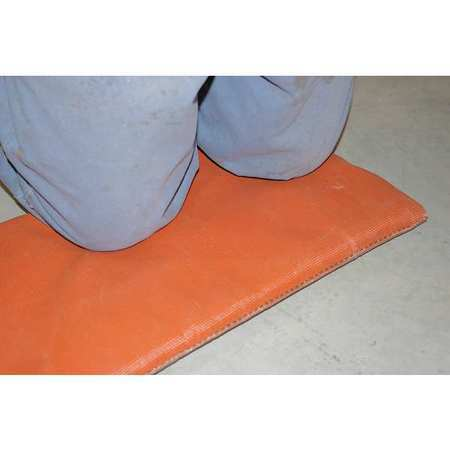 Hi Temp R51-36X36x1-P Welding Pad,3 Ft. W,3 Ft.,1 In.,Red
