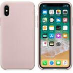 Hoogwaardige Silicone iPhone X / XS Case Cover Hoes Licht Ro