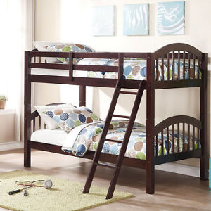 WHOLESALE BLOWOUT SINGLE/SINGLE SOLID WOOD BUNK BED $299.99