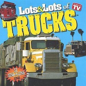 NEW Lots & Lots of Trucks (Audio CD)