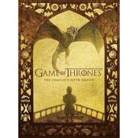 Game Of Thrones - Series 5 - Complete Game Of Thrones (Dvd/s) Excellent Condition £10