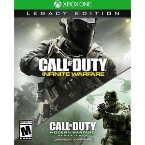 COD Infinite Warefare Legacy included MW