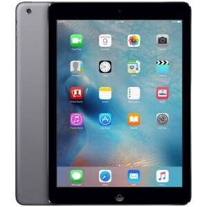 iPad Air 64gb wifi+cellular EUC space grey + pink smart cover