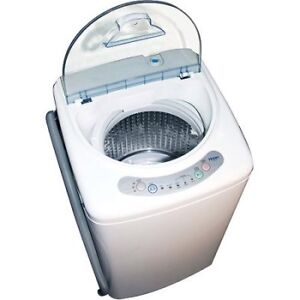 Haier 1.0 Cubic Foot Portable Washing Machine HLP21N - used once